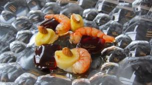 Kreative Küche: Die Rote Gamba beflügelt die örtlichen Spitzenköche zu immer neuen Rezepten und Zubereitungsarten.
