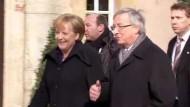 Merkel: EWF wäre keine Schwächung