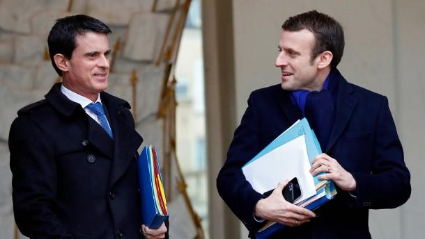 Ex-Regierungschef Valls will für Macron stimmen
