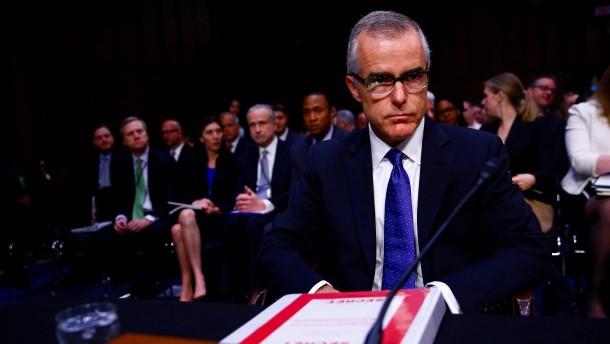 Amtierender FBI-Direktor widerspricht Trump