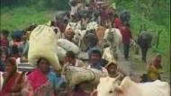 Millionen Inder obdachlos