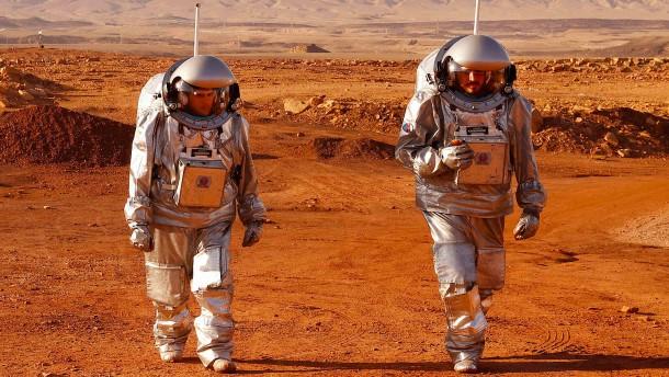 Wissenschaftler simulieren Leben auf dem Mars