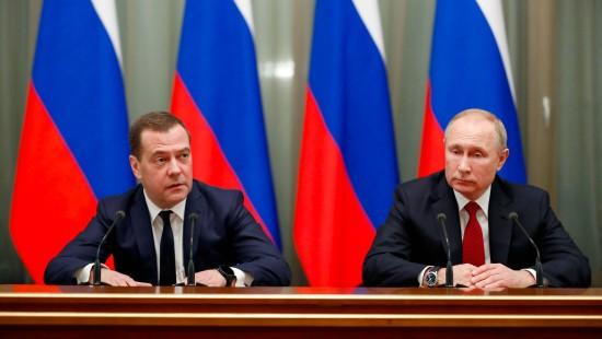 Russische Regierung tritt zurück