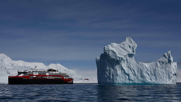 Kreuzfahrtschiff mit Hybridantrieb