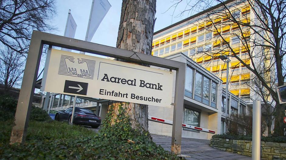 Die Zentrale der Aareal Bank in Wiesbaden