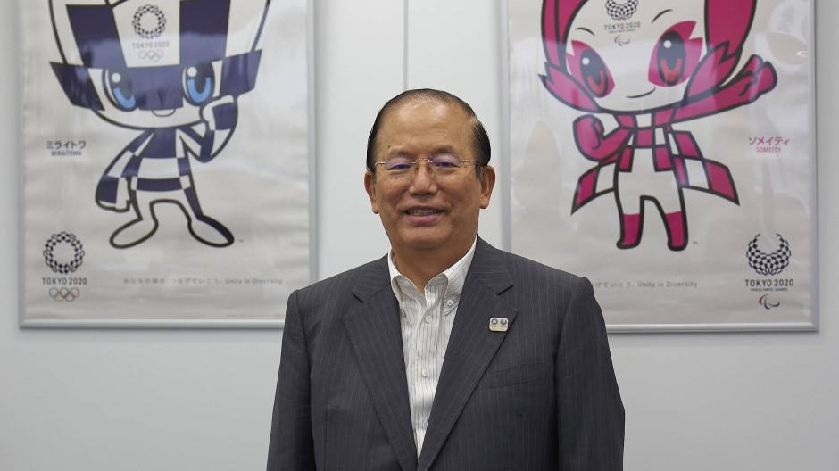 Olympische Spiele in Tokio: Chef des Vorbereitungskomitees Toshiro Muto