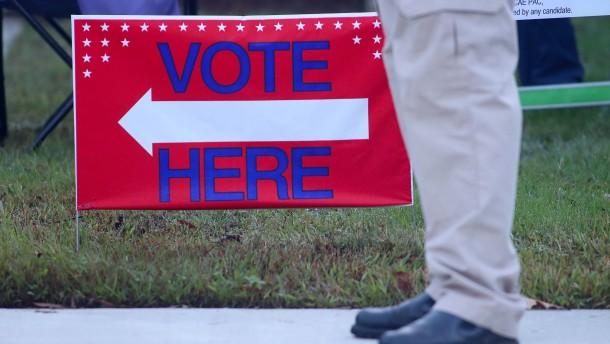 Ansturm auf Wahllokale vor eigentlichem Wahltermin