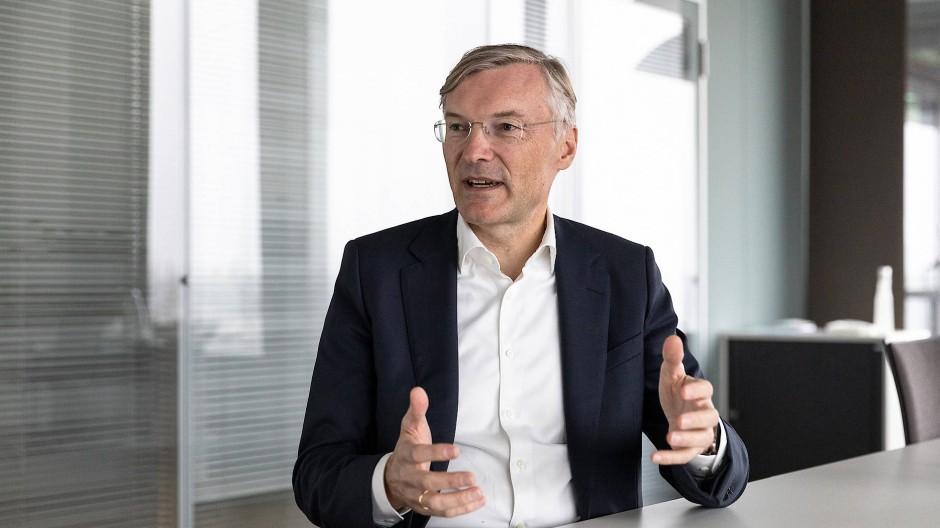 Wolf-Henning Scheider, CEO der ZF Friedrichshafen AG