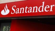 Für Werbung und Kundengewinnung nimmt die Santander Bank ein Minus bei den Krediten in Kauf.