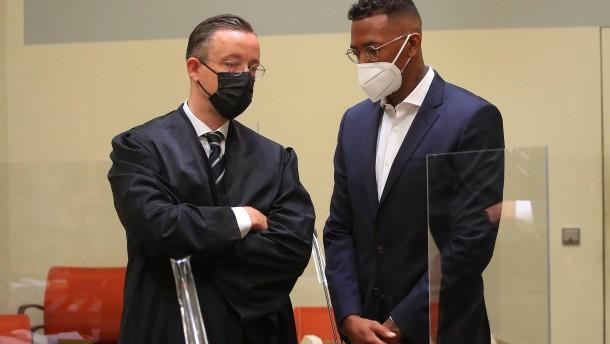 Prozessbeginn gegen Fußballprofi Boateng
