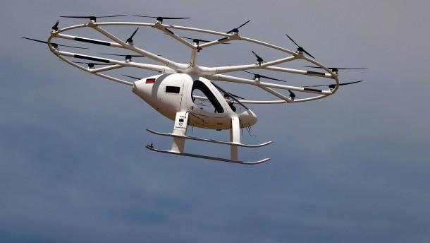 Drohne transportiert bis zu 200 Kilo in der Luft