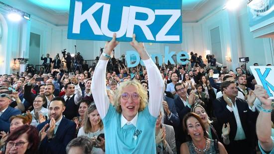 Kurz gewinnt Neuwahl in Österreich haushoch