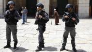 Die Leiche des erstochenen Soldaten fanden am Donnerstag israelische Sicherheitskräfte (Archivbild).