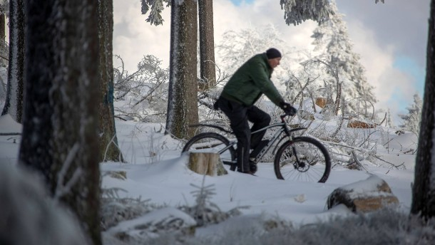 "Tief ""Oskar"" sorgt für Schneefälle"