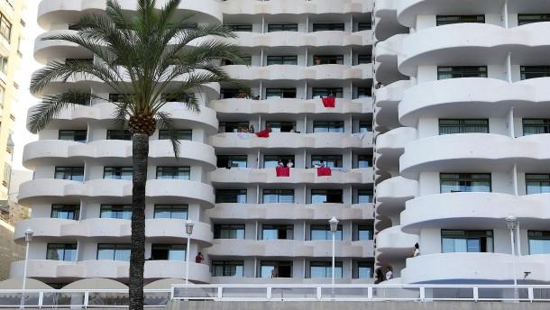 Spanische Schüler wollen raus