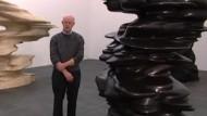 Der Bildhauer Tony Cragg