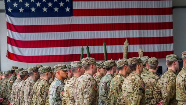 Amerikanische Truppen im Nahen Osten