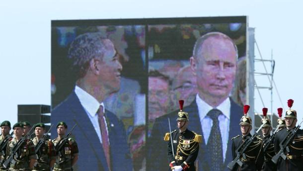 Obama und Putin reden doch miteinander - kurz