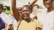 Kenianer drücken Barack Obama die Daumen