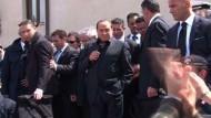 Berlusconi verspricht Lösung des Flüchtlingsproblems