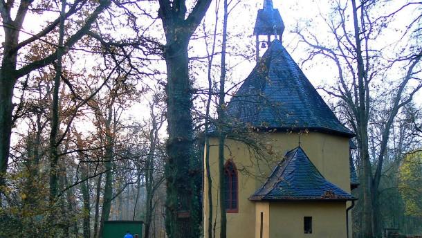 Das Dorf verfiel, die Kirche blieb