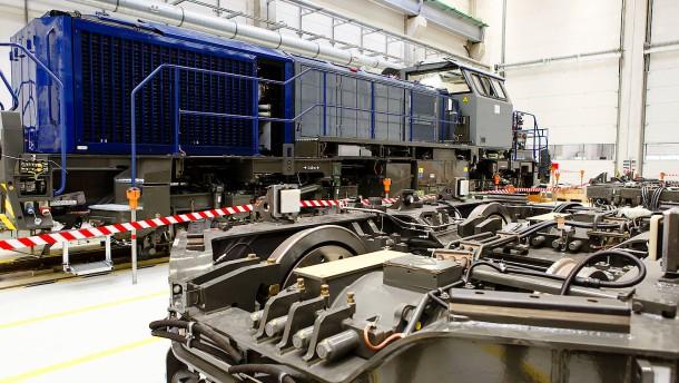 Bund will Verkauf von Vossloh-Lokomotiven an Chinesen stoppen