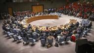 Die beiden ständigen Mitglieder des UN-Sicherheitsrats Russland und China beantragten in New York eine Dringlichkeitssitzung.