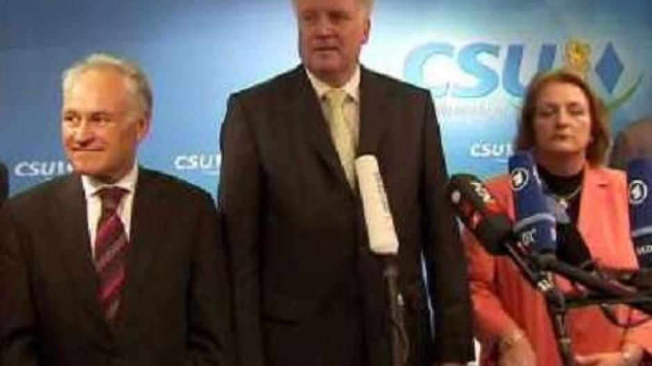 Koalition zwischen CSU und FDP steht