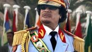 Tripolis feiert den 40. Jahrestag der Machtübernahme Gaddafis