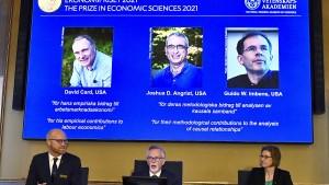 Wirtschafts-Nobelpreis für Arbeiten zum Arbeitsmarkt