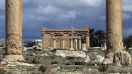 Islamischer Staat sprengt antiken Tempel in Palmyra