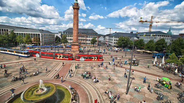 Darmstadt ist Deutschlands Schuldenhauptstadt
