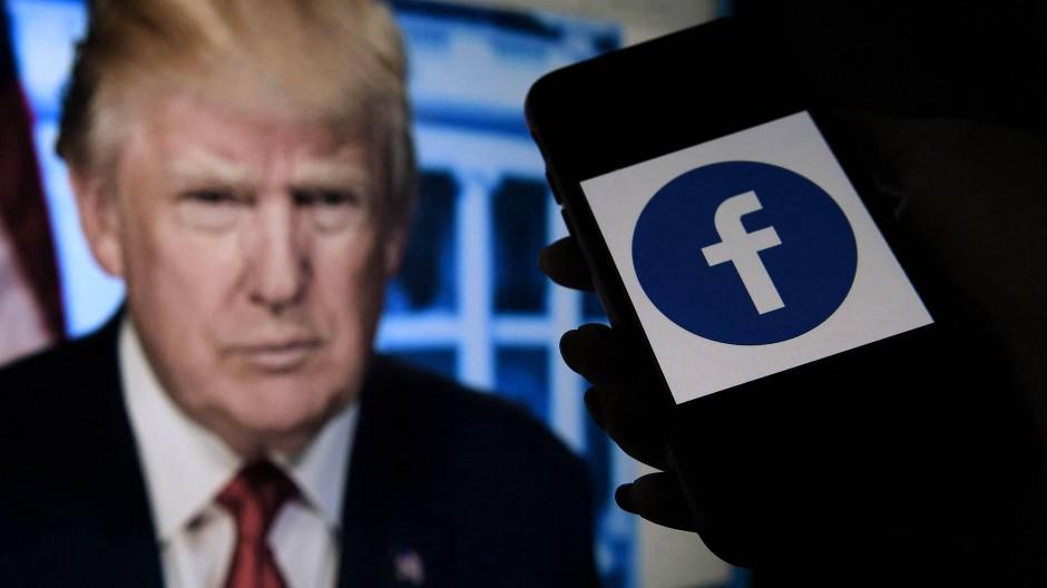 Bleibt Donald Trump auf Facebook gesperrt? Ein unabhängiges Gremium muss über den Fall entscheiden.