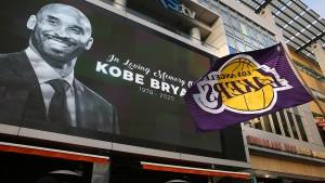Kobe Bryant stirbt bei Hubschrauberabsturz
