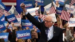 Bernie Sanders setzt sich durch