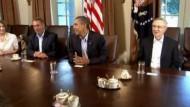 """Kein Durchbruch bei Obamas """"Schuldengipfel"""""""