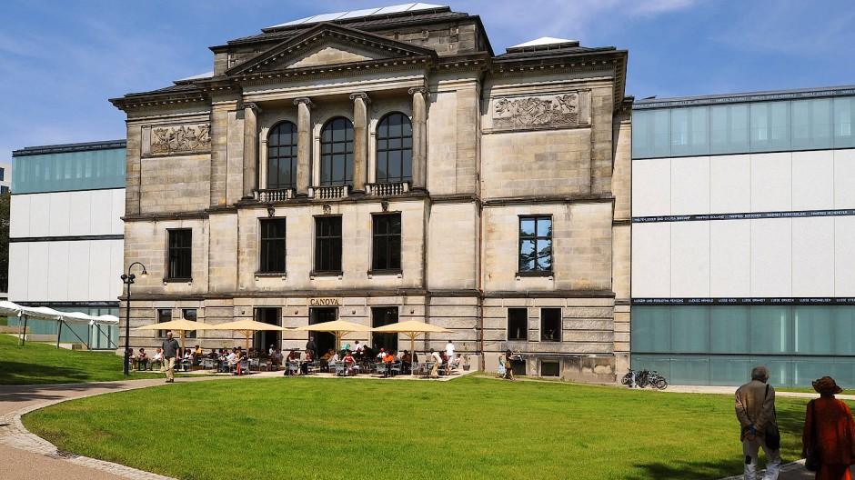"""Die Kunsthalle wird nicht nur wieder reichlich besucht, sondern auch das Restaurant """"Canova""""."""