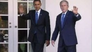 Handshake im Oval Office