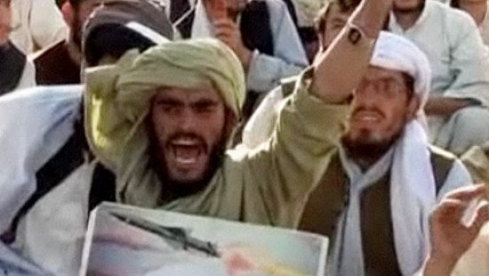 Proteste nach Bin Ladins Tod