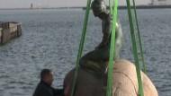 Kleine Meerjungfrau erstmals auf Reisen