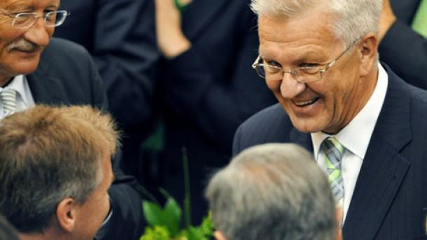 Erster grüner Ministerpräsident gewählt