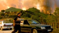 Waldbrände bedrohen Antalya