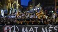 Tausende Spanier protestieren gegen Militäreinsatz
