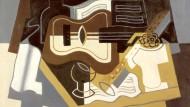 """Im Unterschied zu den Qbisten erschaffen Kubisten ihre Dinge selber: Juan Gris malte """"Gitarre und Klarinette"""" im Jahr 1920"""