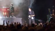 Meat Loaf auf einer Bühne in Frankfurt in 2013