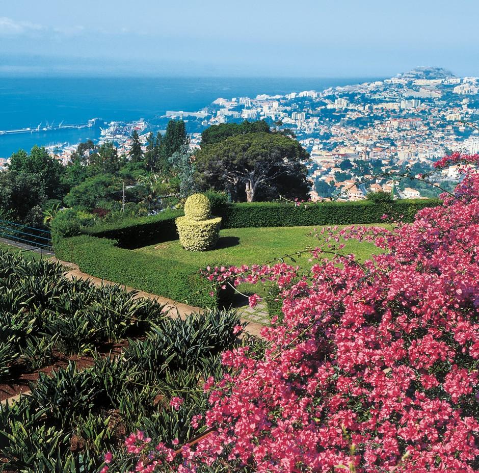 Blick auf Funchal.