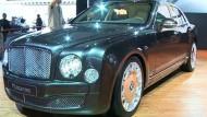 Luxus-Autos trotzen der Krise