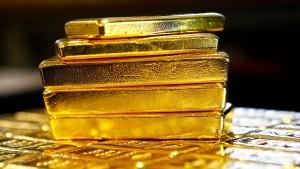 Gold verliert fast ein Zehntel seines Wertes