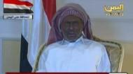 Präsident Salih zeigt sich im Fernsehen