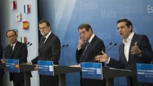 """Südeuropa-Gipfel nennt Raketenangriff in Syrien """"verständlich"""""""